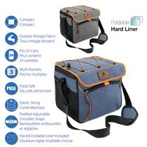 Ozark Trail 24-Can Collapsible Cooler with Hard Liner