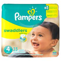 Couches Pampers Swaddlers, format Jumbo Taille 4