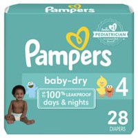 Pampers Baby Dry Jumbo Pack Size 4