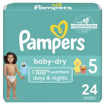 Couches Baby Dry de Pampers Taille 5