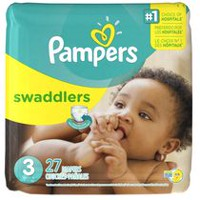 Couches Pampers Swaddlers, format Jumbo Taille 3