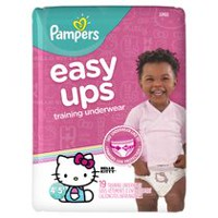 Pampers Easy Ups Training Underwear Girls, Jumbo Pack 4T-5T