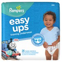 Pampers Easy Ups Training Underwear Boys, Jumbo Pack 2T-3T