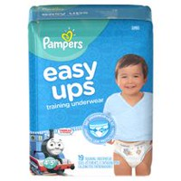 Pampers Easy Ups Training Underwear Boys, Jumbo Pack 4T-5T
