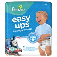 Pampers Easy Ups Training Underwear Boys, Jumbo Pack 3T-4T