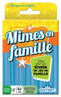 Jeu de cartes Mimes en famille d'Outset Media
