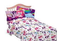 Ensemble de draps pour lit à une place « Pony-Fied » de My Little Pony
