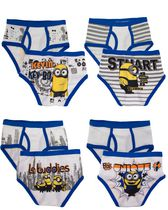 Universal Minions Boys Four Pack Brief 8