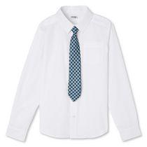 Chemise tissée et cravate George pour garçons