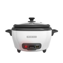 Black & Decker 6-Cup Rice Cooker, Removable Nonstick Bowl