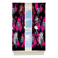 "Monster High ""High Fashion Monsters"" Room Darkening Drapery Panel"