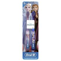 Oral-B Kid's Toothbrush featuring Disney's Frozen, Soft Bristles, for Children and Toddlers 3+
