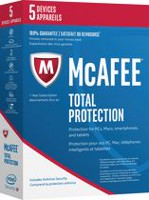 Logiciel antivirus Total Protection 2017 de McAfee