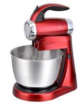 Betty Crocker Red Metallic 7-Speed Power-Up Stand Mixer