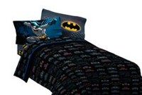 Ensemble de draps pour lit à 1 place « Guardian Speed » Batman de Warner Bros.