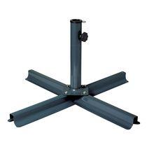 CorLiving Dark Grey Steel Patio Umbrella Stand