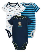 Child of mine made by Carter's  Boys' Monkey Bodysuits, Pack of 3 18M