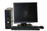 "Refurbished Dell 740 DT with AMD 3800+ 2.0GHz Processor + 19"" LCD"