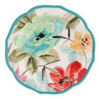 The Pioneer Woman 8.5-inch Decorated Salad Plate