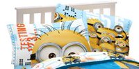 "Despicable Me Minions ""Testing 123"" Pillowcase"