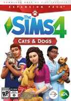 The Sims 4 (EP4) Cats & Dogs (CIAB - PC/MAC - EN-ONLY) PC