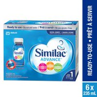 Similac® Advance® Step 1 Non-GMO Infant Formula, Ready-to-Feed