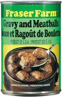 Fraser Farm® Gravy and Meatballs