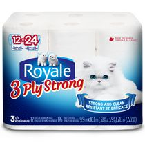 ROYALE® 3-Ply Comfort Bathroom Tissue