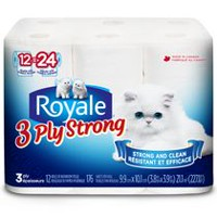 ROYALE 3-Ply Comfort Bathroom Tissue
