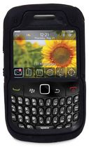Exian Armored Case for Blackberry Curve 8520 - Black