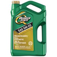 Synthetic engine oils walmart canada for Quaker state advanced durability motor oil review