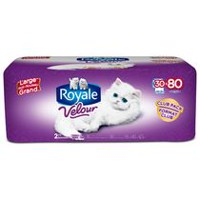 ROYALE® Velour™ 2-Ply Bathroom Tissue, Club Pack