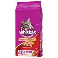 Whiskas Meaty Selections with Real Chicken 2kg