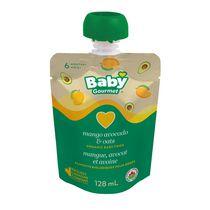 Baby Gourmet Purée de mangue, avocat et avoine aliments biologiques pour bebes