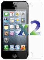 Exian Screen Protector for iPhone 5 - Clear (2 Pcs)