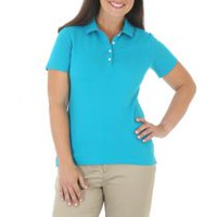 Riders by Lee Women's Knit Polo Shirt S