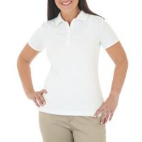 Riders by Lee Women's Knit Polo Shirt L/G