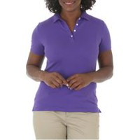 Riders by Lee Women's Knit Polo Shirt L