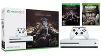 Xbox One S - 500 GB Shadow of War Bundle with Call of Duty WWII