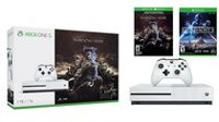 Xbox One S 1TB Console - Shadow of War™ Bundle with Star Wars Battefront II