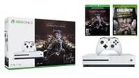 Xbox One S 1TB Console - Shadow of War™ Bundle with Call of Duty WWII