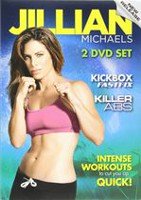 Jillian Michaels 3-High Octane 30-Minute Workouts DVD - Set of 2