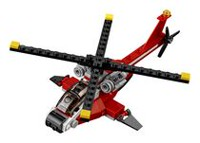 LEGO Creator - L'hélicoptère rouge (31057)