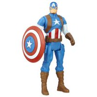 Marvel Avengers - Figurine de base Captain America de 15 cm
