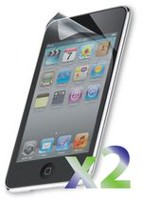 Exian Screen Protector for iPod Touch 4 - Clear (2 Pcs)