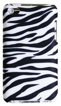 Exian Case for iPod Touch 4 - Zebra Pattern