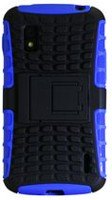 Exian Case for Nexus 4 Armoured with Stand, Blue