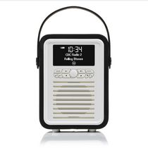 VQ Radio Retro Mini Bluetooth® Portable Speaker Black