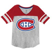 Montreal Canadiens Ladies Short Sleeve Graphic Tee L