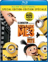 Despicable Me 3 (Special Edition) (Blu-ray + DVD + Digital) (Bilingual)